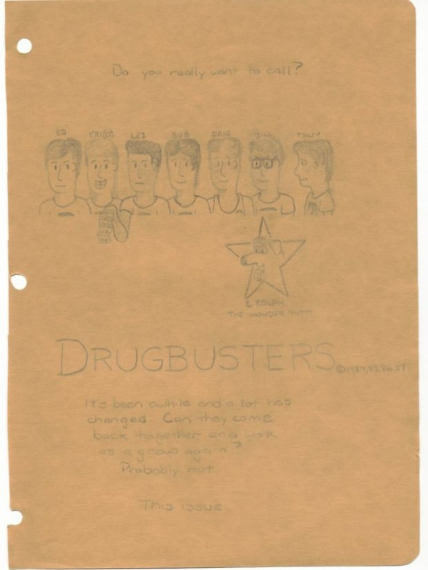 Drugbusters - Senior Year - Title Page